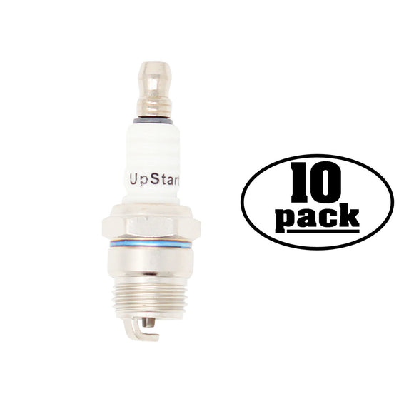 10-Pack Compatible Champion DJ7Y Spark Plug Replacement