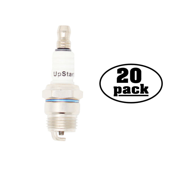 20-Pack Compatible Champion DJ7Y Spark Plug Replacement