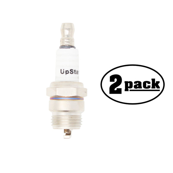 2-Pack Compatible Champion DJ8J Spark Plug Replacement