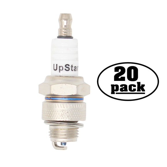 20-Pack Compatible Champion J19LM Spark Plug Replacement