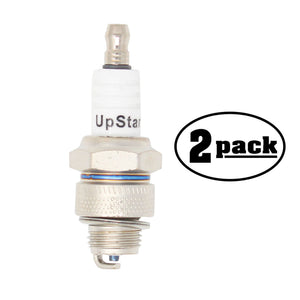 2-Pack Compatible Champion J19LM Spark Plug Replacement
