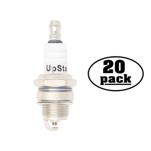 20-Pack Compatible Champion RCJ6Y Spark Plug Replacement