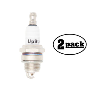 2-Pack Compatible Spark Plug for SOLO Air Mist Sprayer 432, 433, 436, 437, 437 Rider, 439, 439 Trac