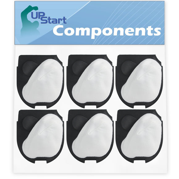 6-Pack DCF-11 Filter Replacement for Eureka 70AX Quick Up Vacuum Cleaner