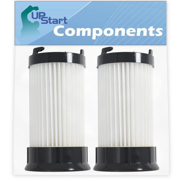 2-Pack DCF-4 DCF-18 Filter Replacement for Eureka & GE Vacuum Cleaners - Compatible with Eureka DCF-4 DCF-18 HEPA Dust Cup Filter