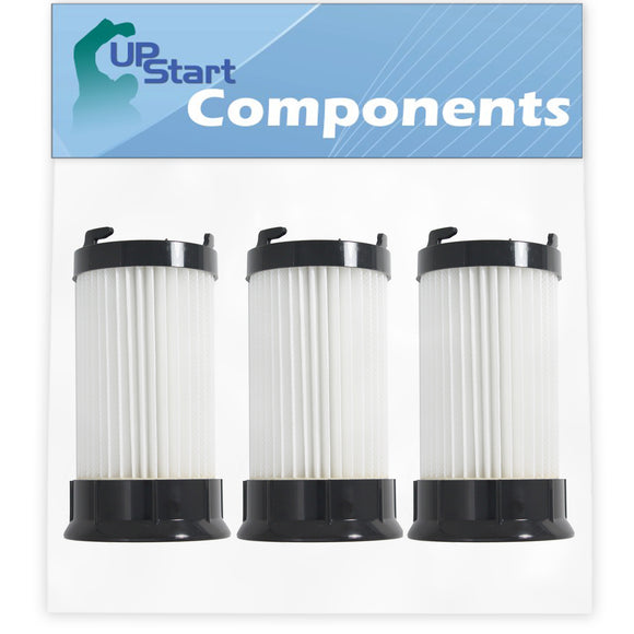 3-Pack DCF-4 DCF-18 Filter Replacement for Eureka & GE Vacuum Cleaners - Compatible with Eureka DCF-4 DCF-18 HEPA Dust Cup Filter