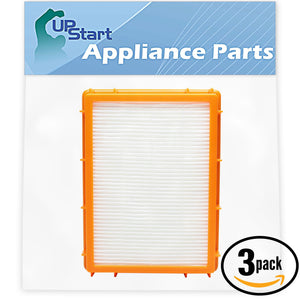 3-Pack Eureka HF-2 Vacuum HEPA Filter Replacement