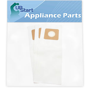 3 Panasonic Type U Vacuum Bags Replacement