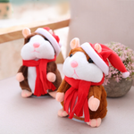 Christmas Special Style!! LOVELY LITTLE TALKING HAMSTER PLUSH TOY!