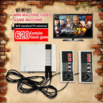 CLASSIC CONSOLE 620 Game Console FC Mini Host Red And White Classic TV Game Console