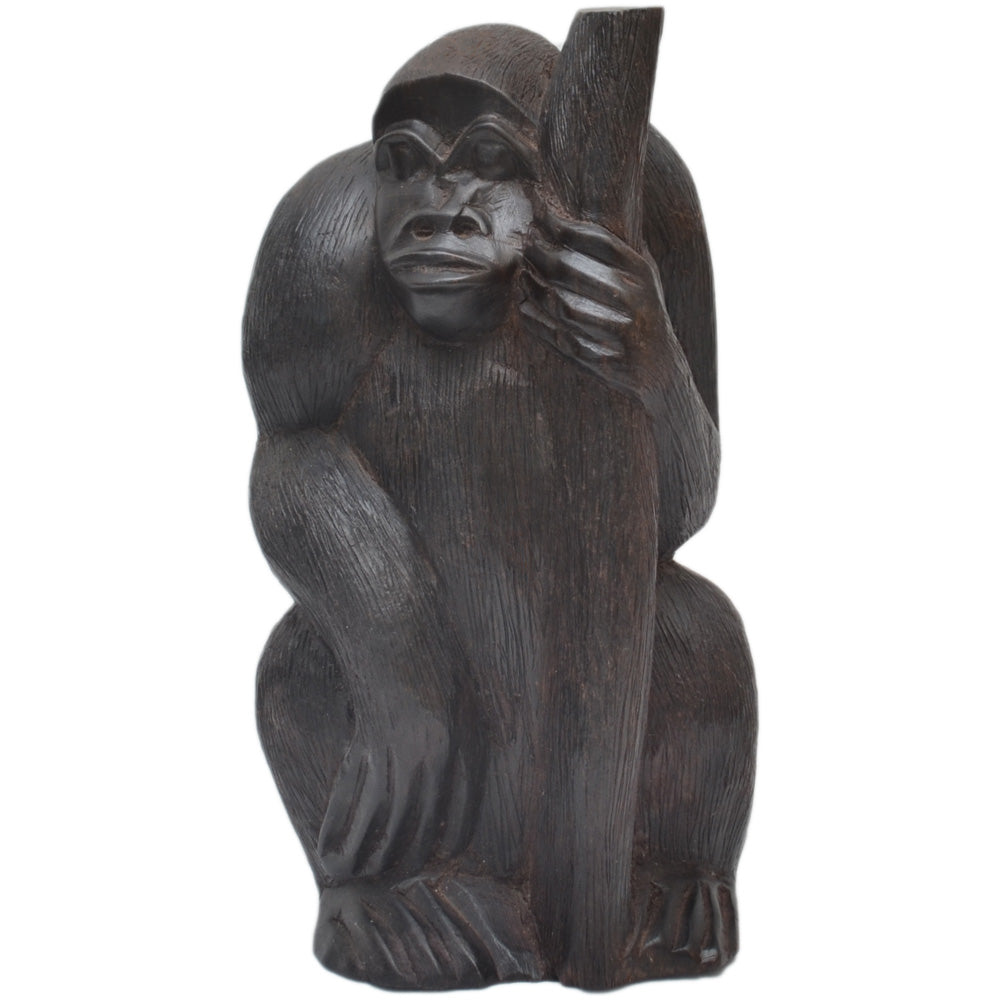 Gorilla carving (Ebony wood)