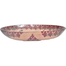 Load image into Gallery viewer, Medium Rosewood oval bowl (Zebra)