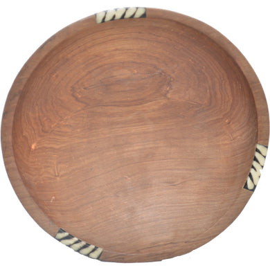 Medium Olive wood round bowl