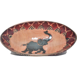 Small Rosewood oval bowl (Elephant)