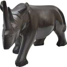 Load image into Gallery viewer, Rhino carving (hardwood)