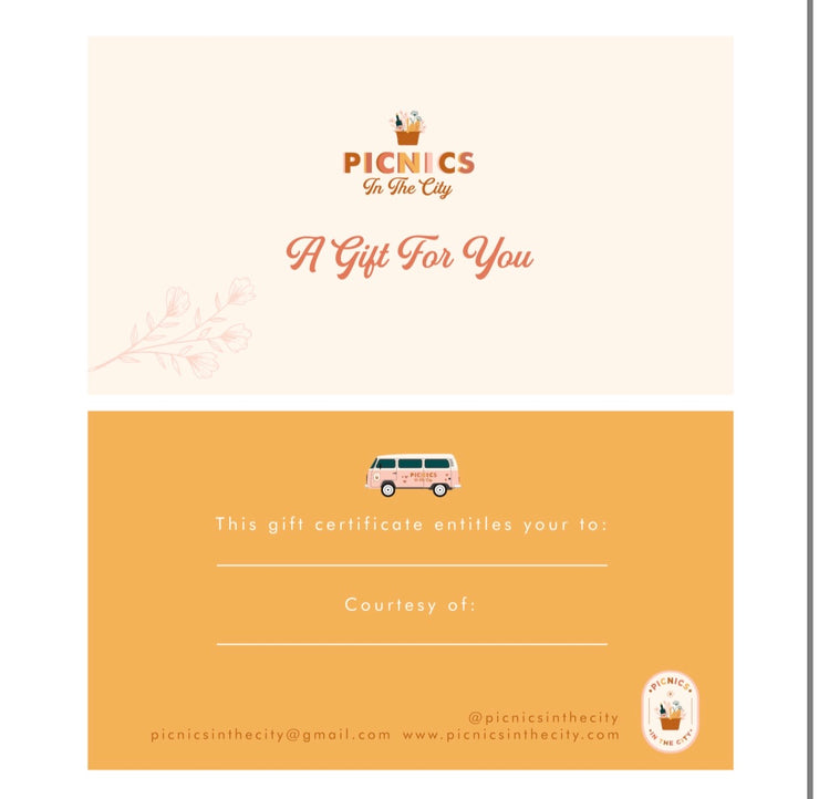 Picnics in the City Gift Card