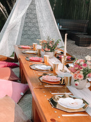 Picnic Setup for 20 Guests