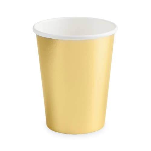 Gold Crush Cups set of 8