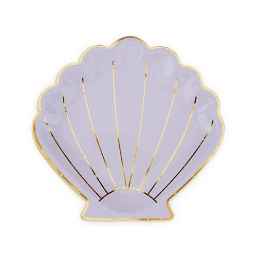 Shell Appetizer Plate by Cakewalk Set of 8