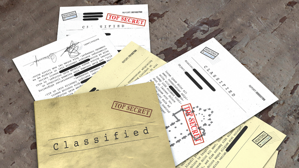 SBIR IP top secret confidential papers