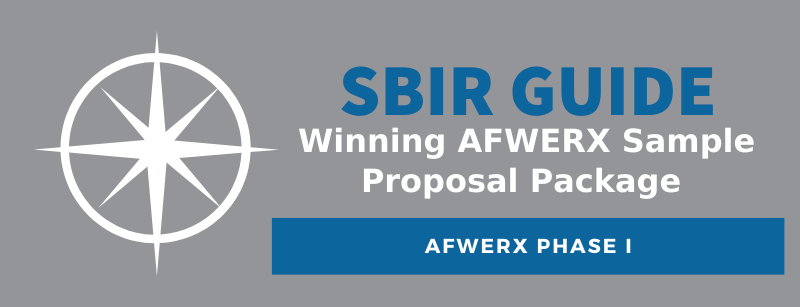 Winning AFWERX Phase I Sample Proposal Package - SBIR Guide