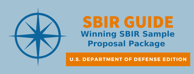 Winning SBIR Sample Proposal Package - SBIR Guide