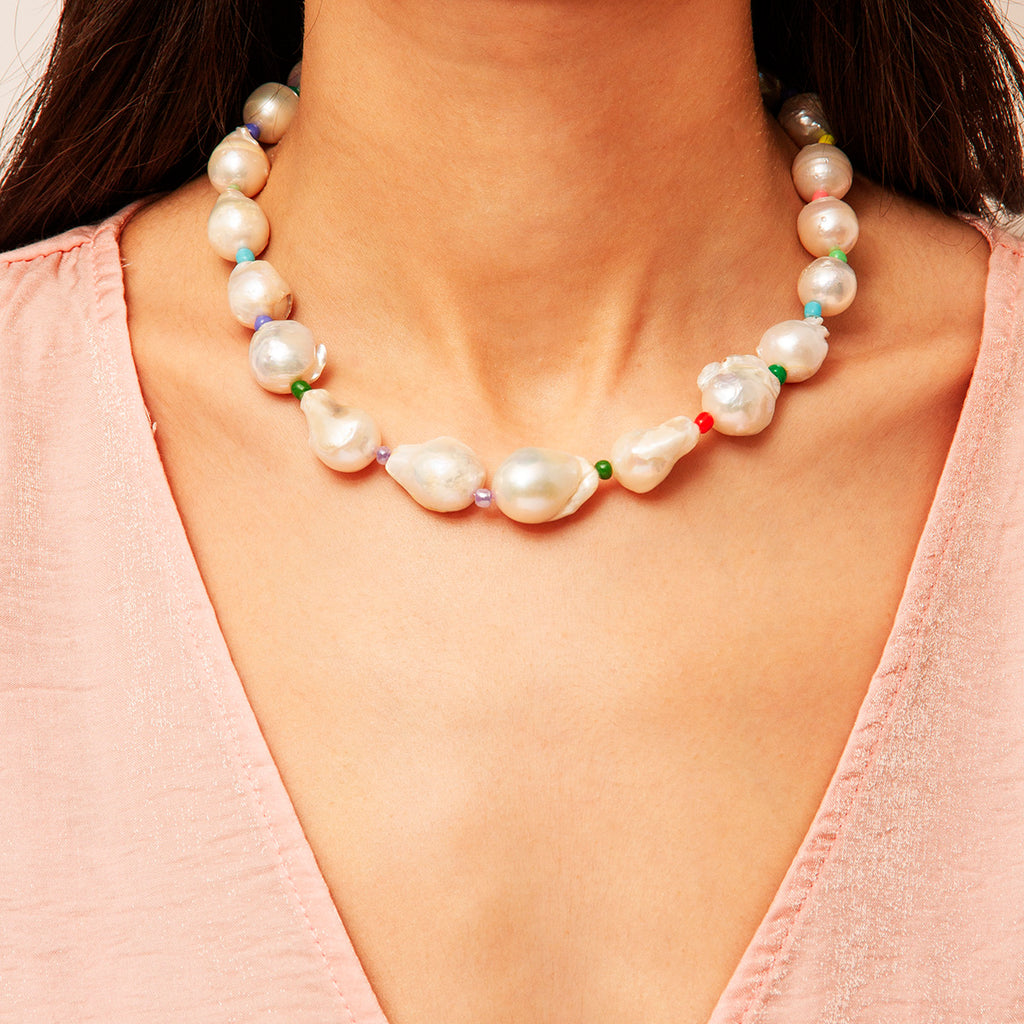 London Baroque Pearl Necklace