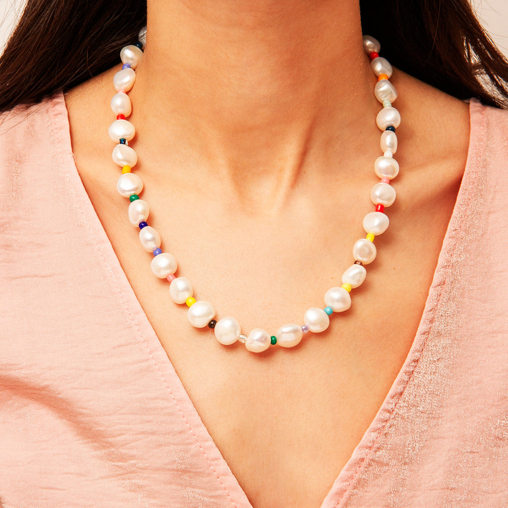 Beirut Pearl Necklace