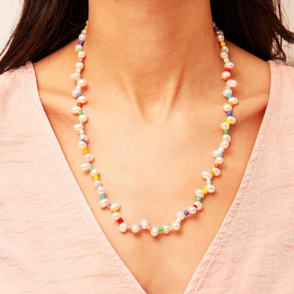 Hayriye Pearl Necklace