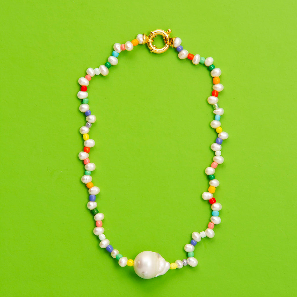 Barcelona Pearl Necklace