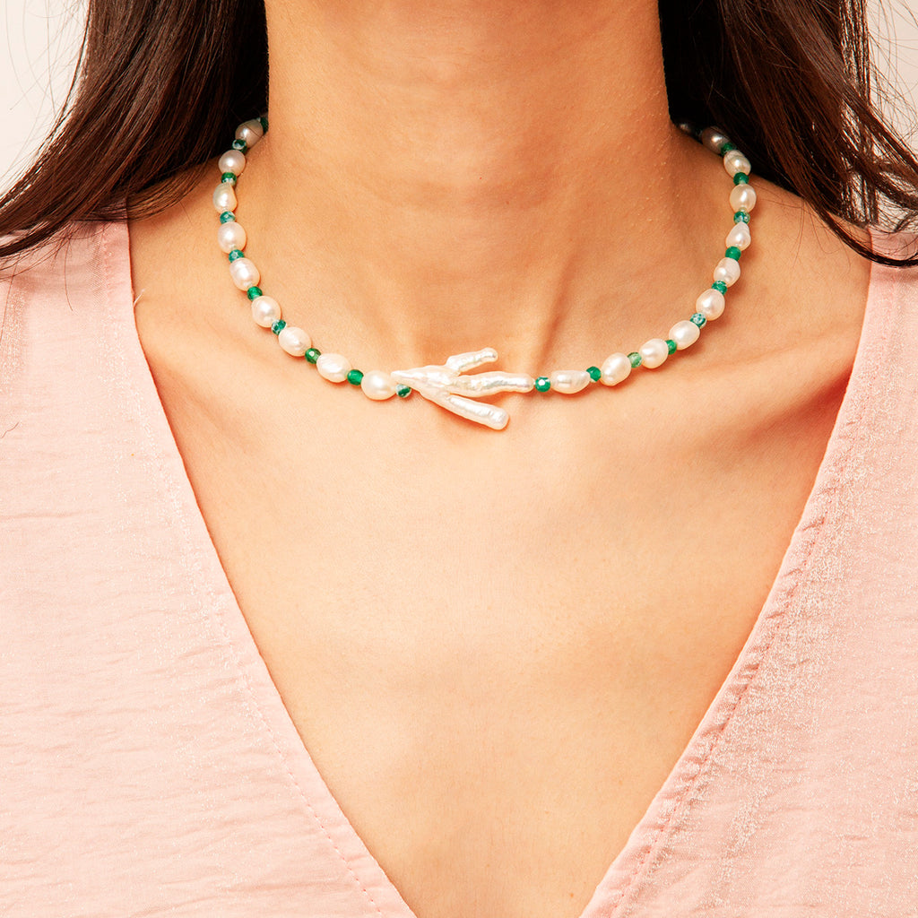 Athens Pearl Necklace