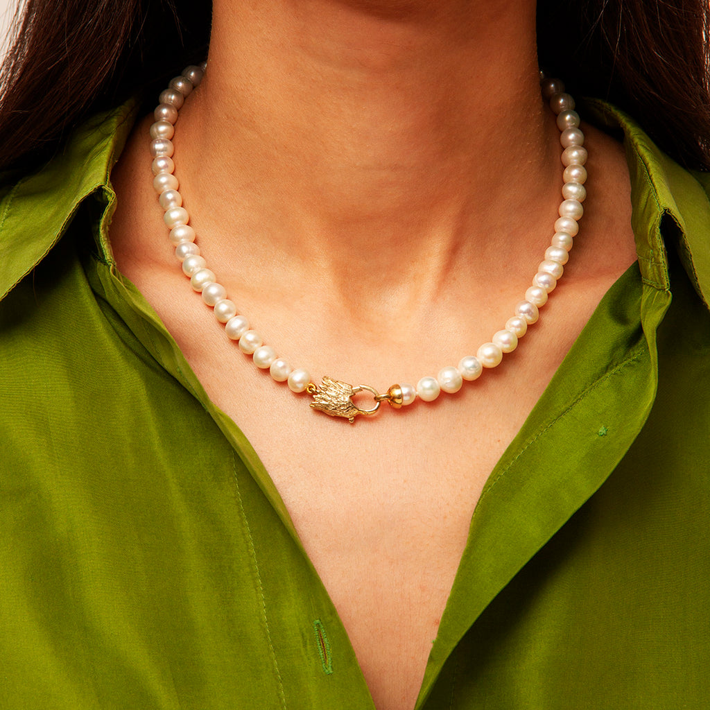 Monaco Pearl Necklace