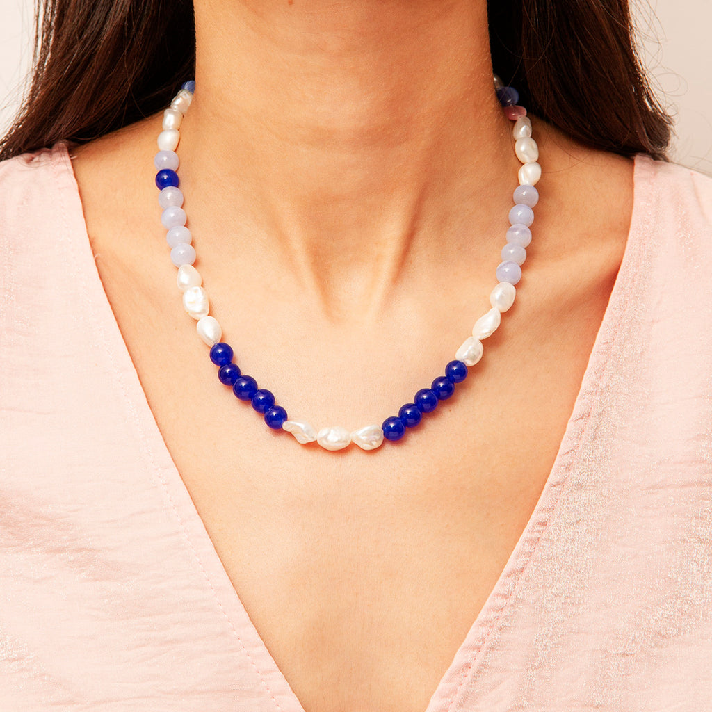 Porto Gem Stone Necklace