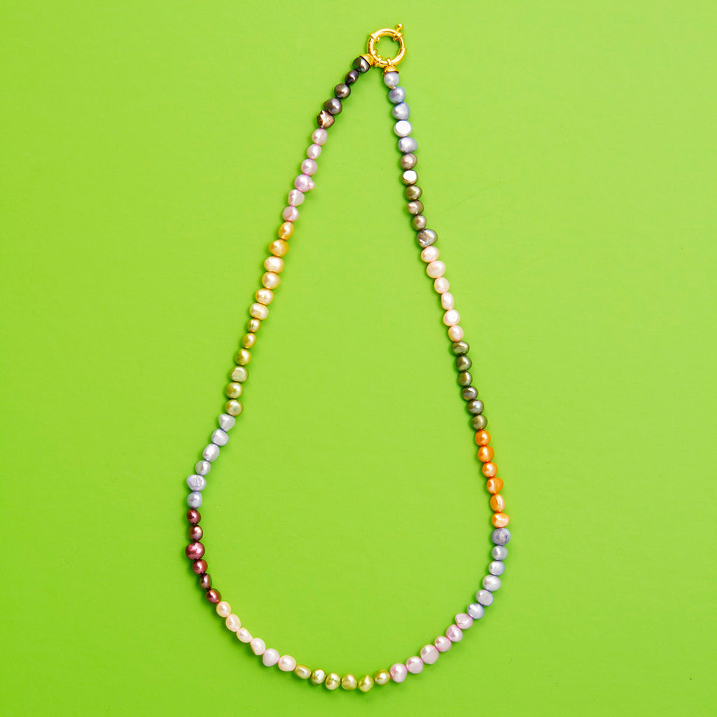 Lila Pearl Necklace
