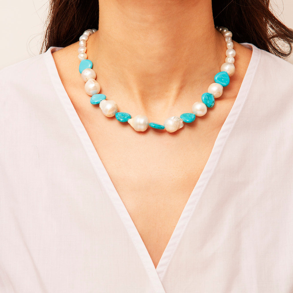 Mare Pearl Necklace