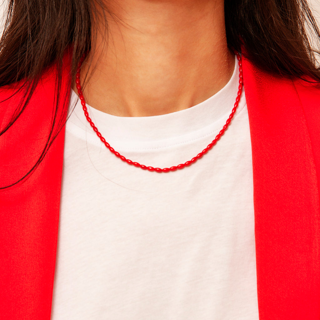 Erin Coral Necklace