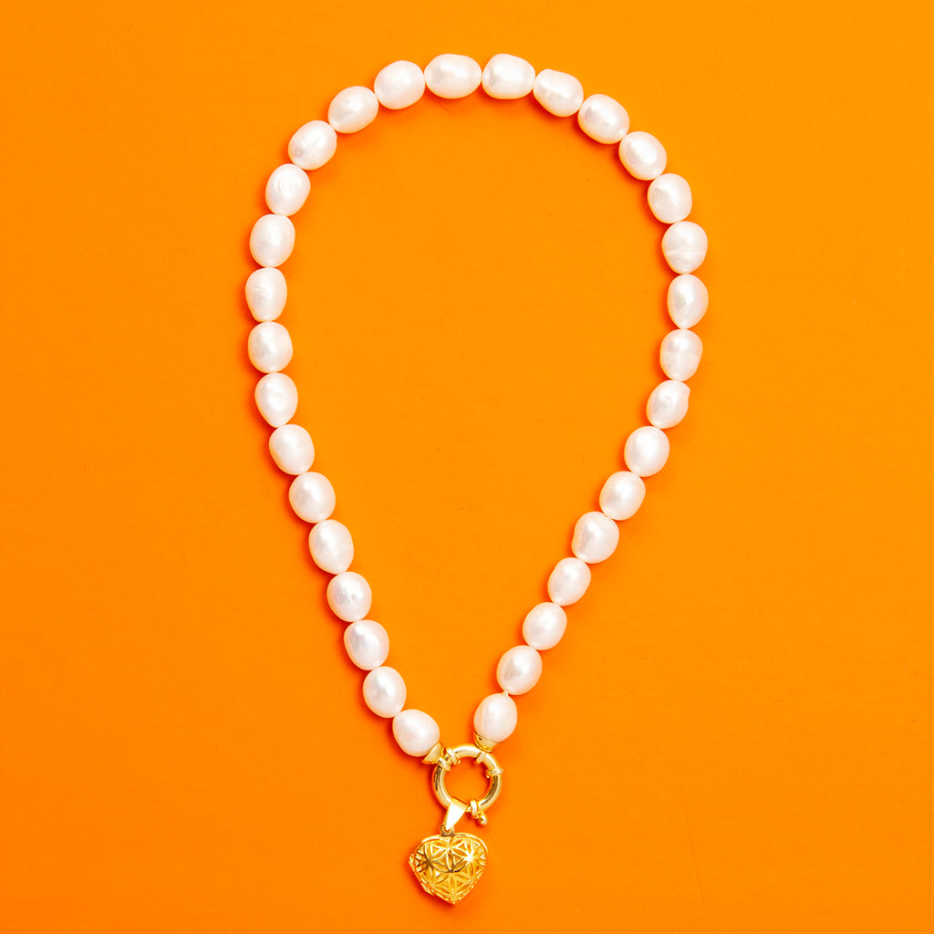 İris  Pearl Necklace