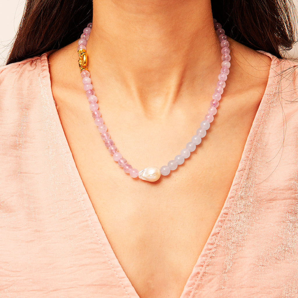 Mia Gem Stone Necklace