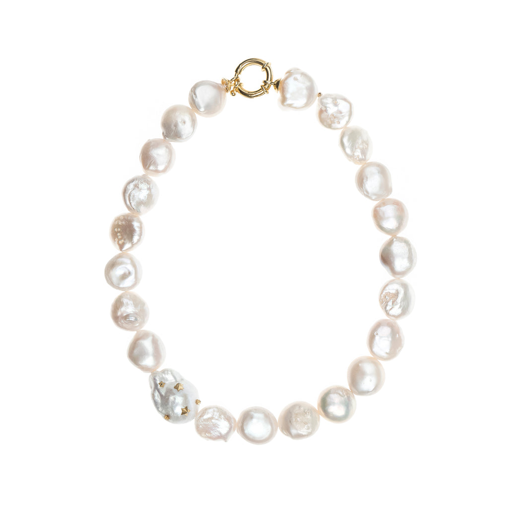 Farrah Pearl Necklace