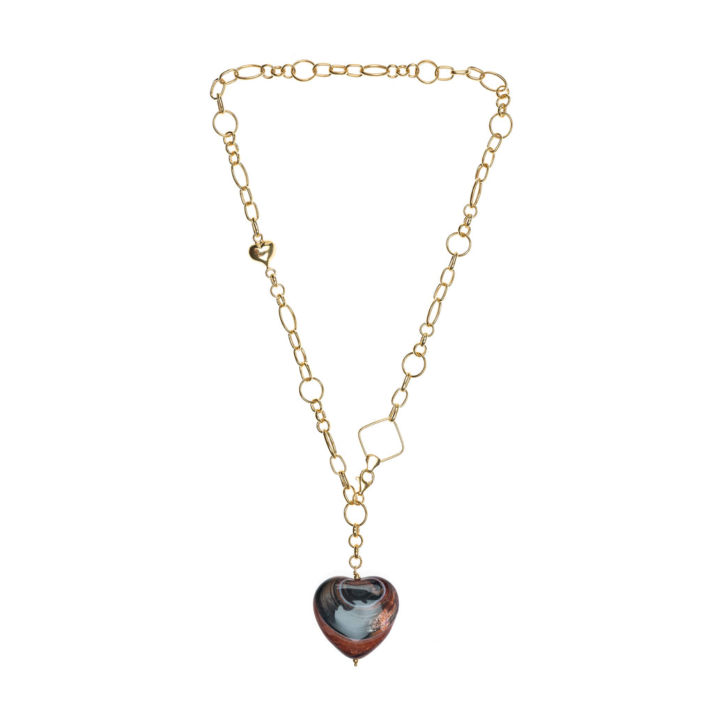 Debora Onix Hearth Necklace