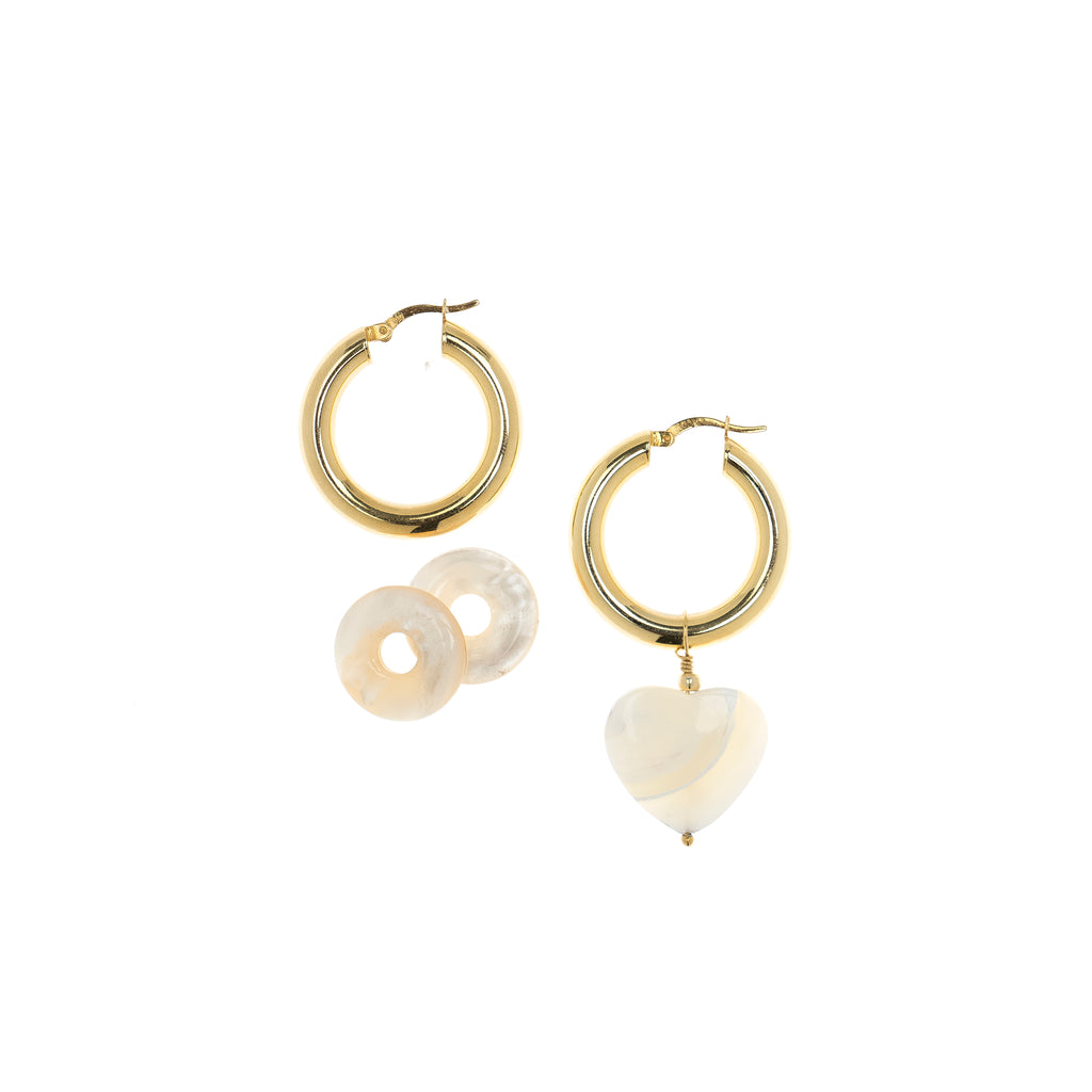 Tara Mother of Pearl Earrings
