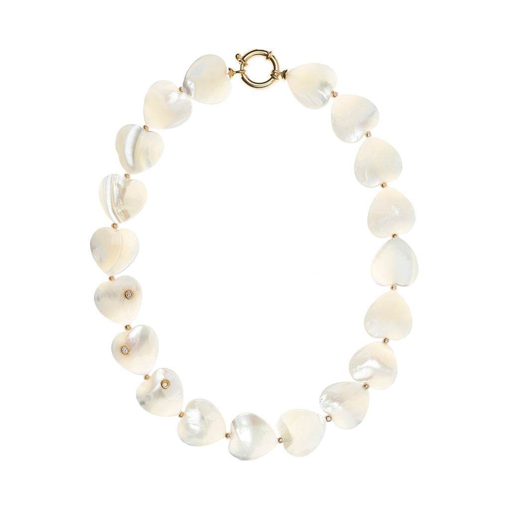 Lizzy Mother of Pearl Necklace