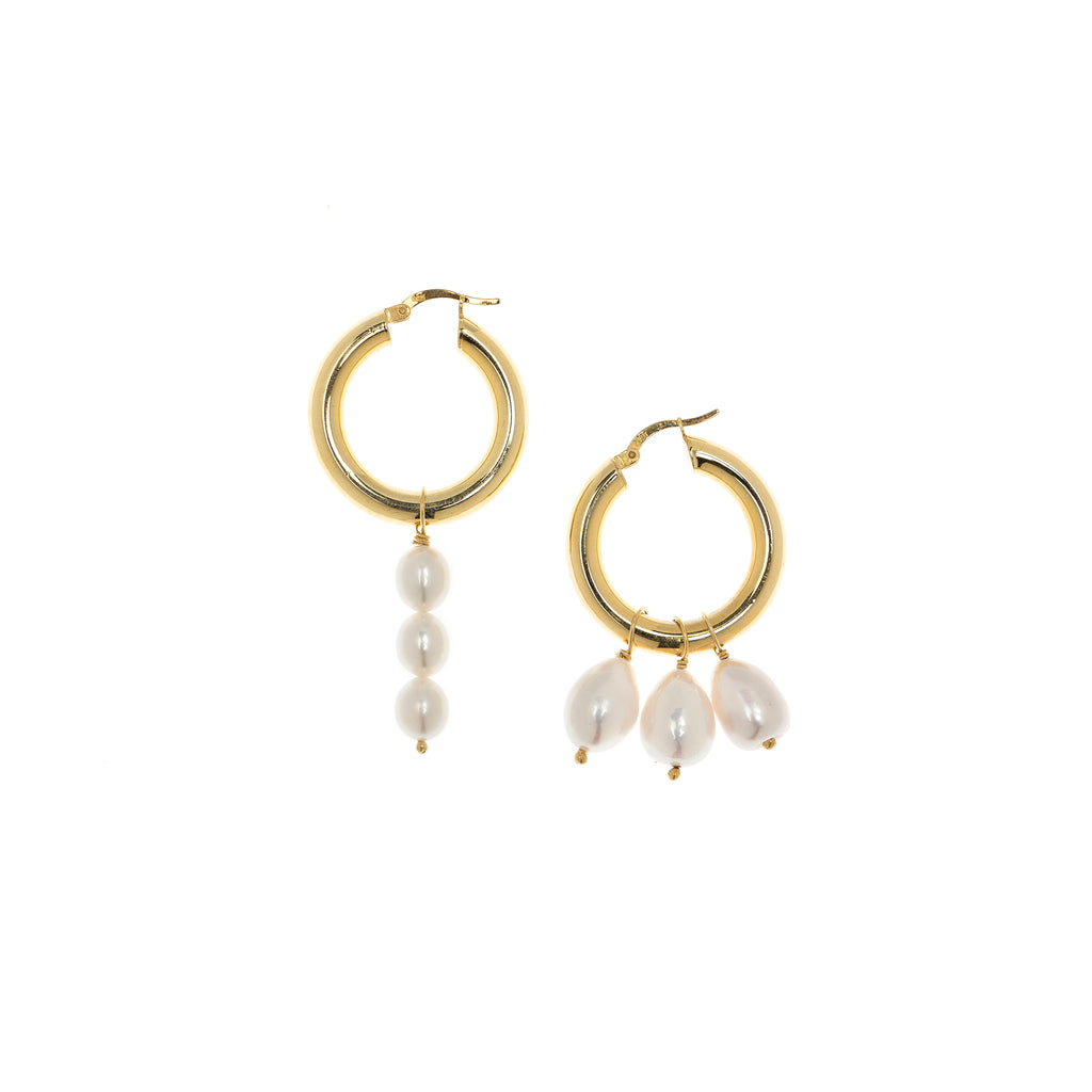 Lauren Pearl Earrings