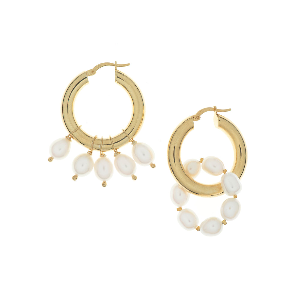 Melisa Pearl Earrings
