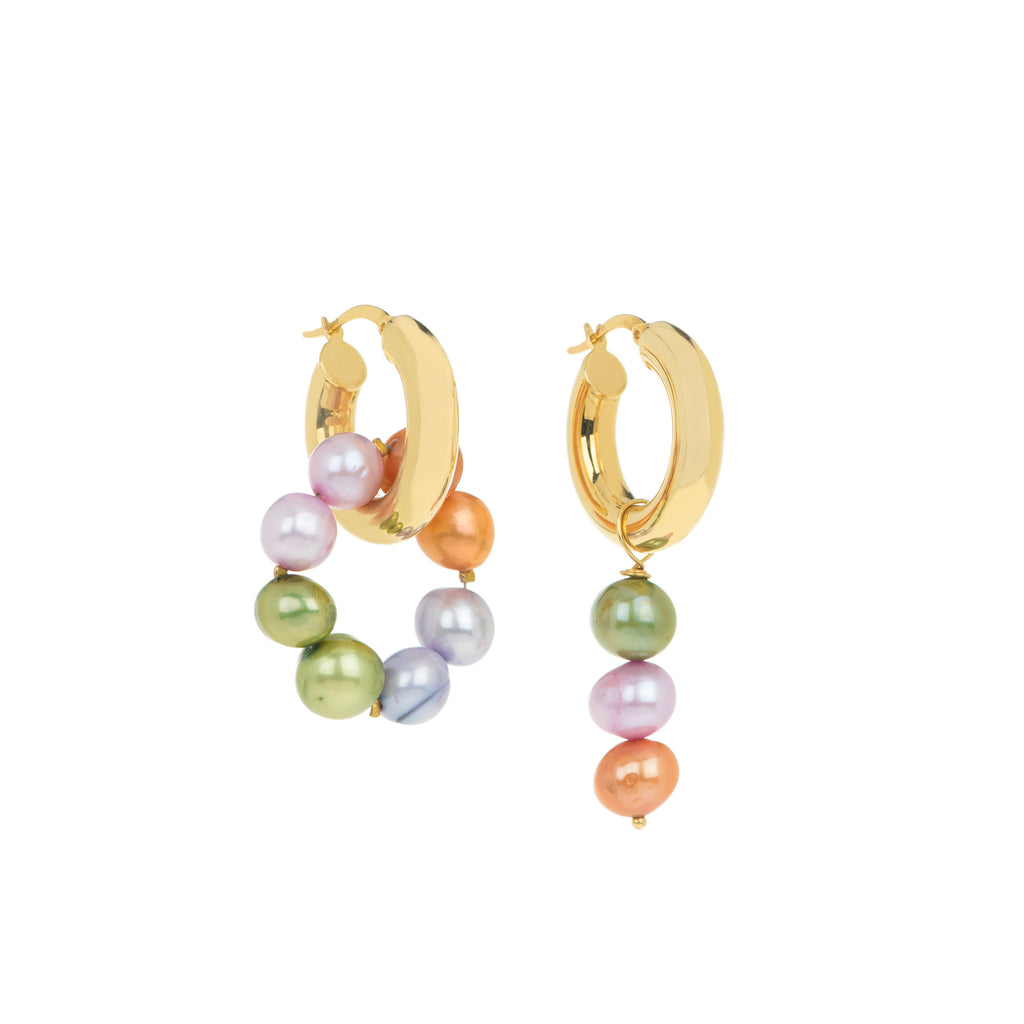 Meadow Pearl Earrings