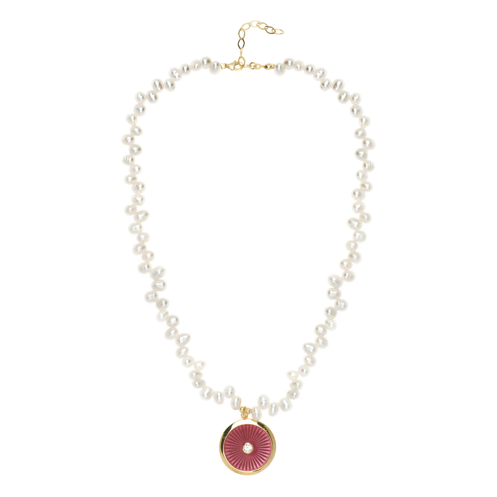 Panama Pearl Necklace