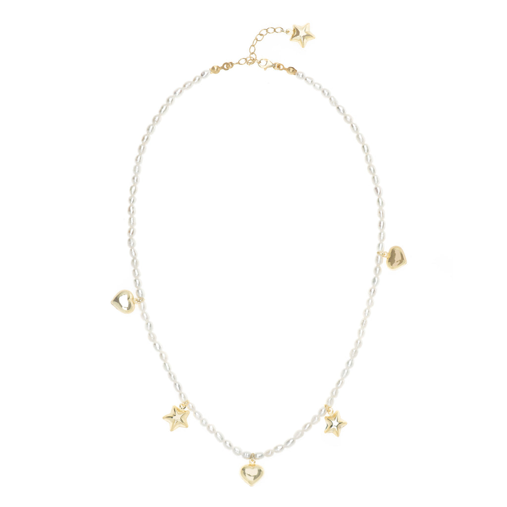 Deniz Pearl Necklace