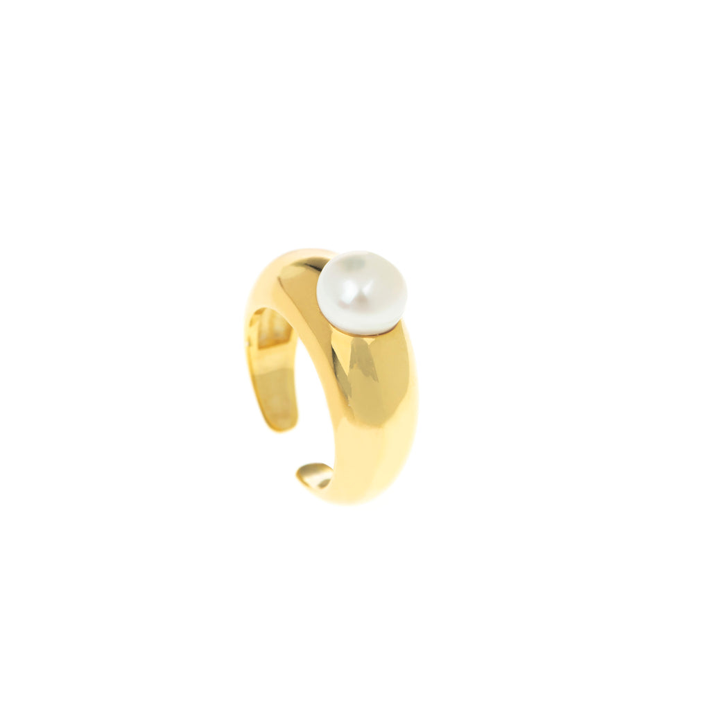 Suki Pearl Gold Ring