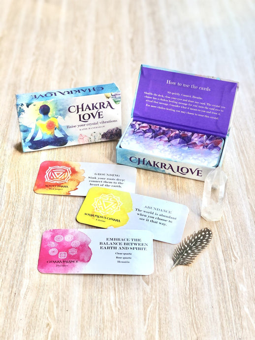 Chakra Love Cards - Sentient Creations