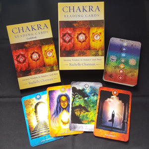 Chakra Reading Cards - Ancient Wisdom to Balance and Heal - Sentient Creations